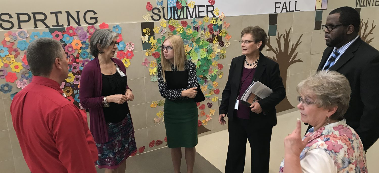 Senator Orin Hatch's Assistant Jessa Reed visits CEP programs June 8