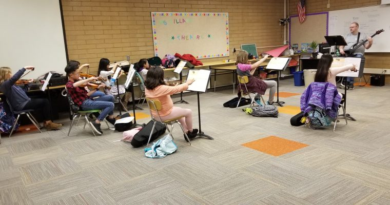 Hillside Afterschool Band and Orchestra Practice