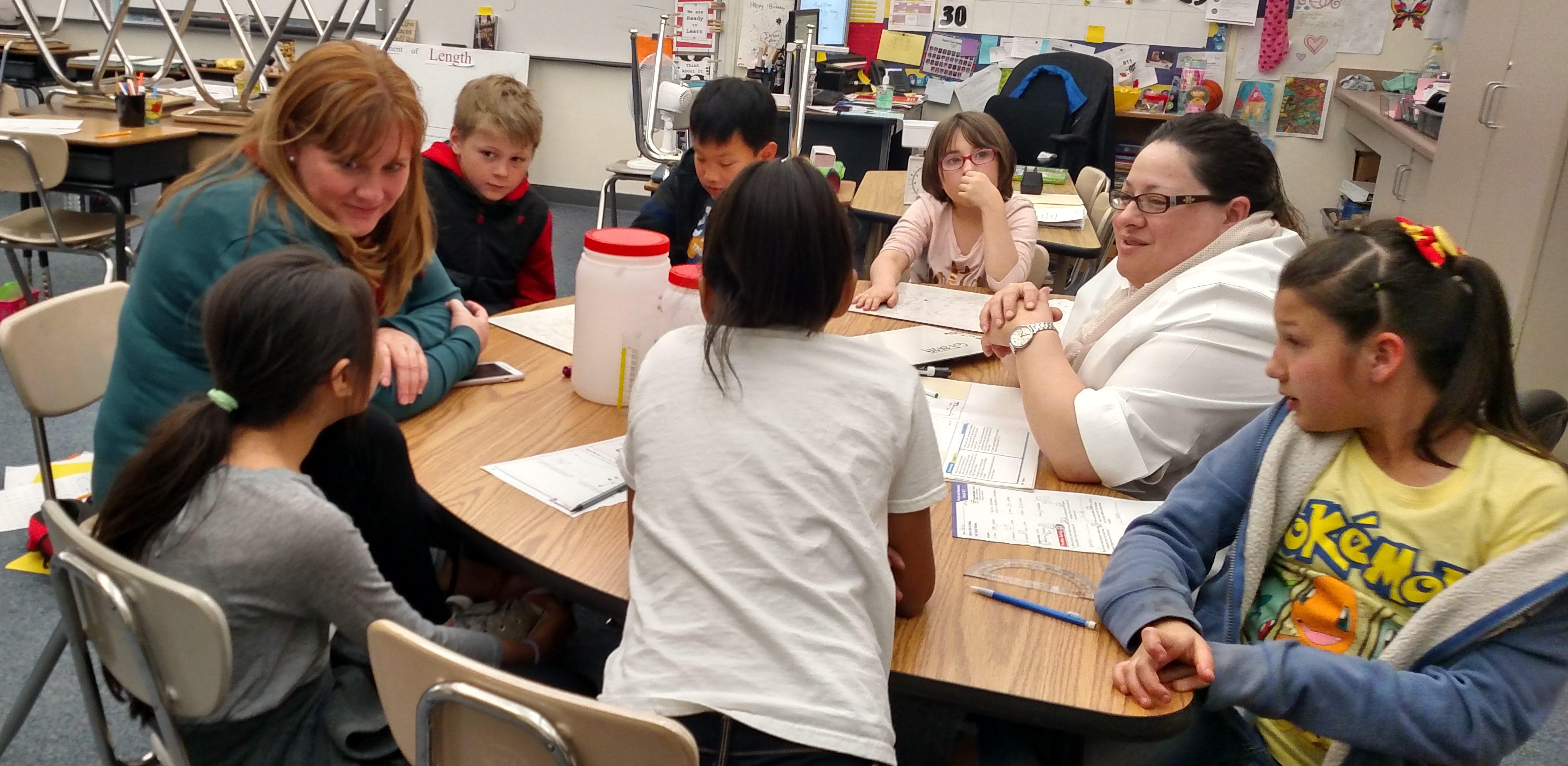 Representative Mia Love's Assistant Laurel Price visits CEP program April 26