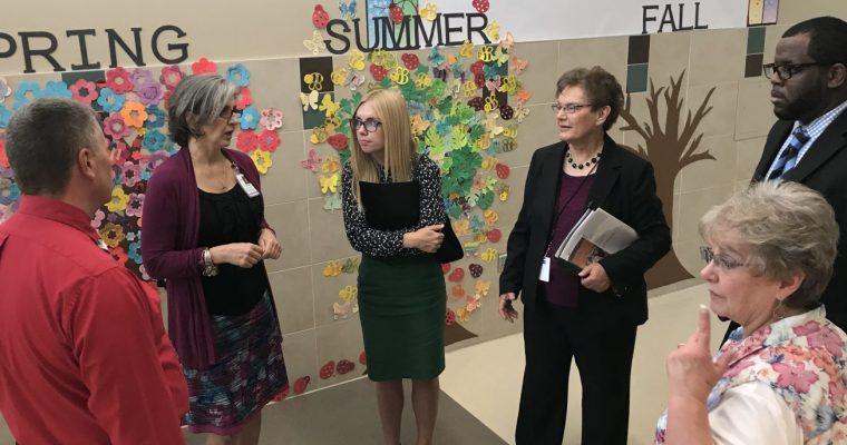 Senator Orin Hatch's Assistant Jessa Reed visits CEP programs June 8