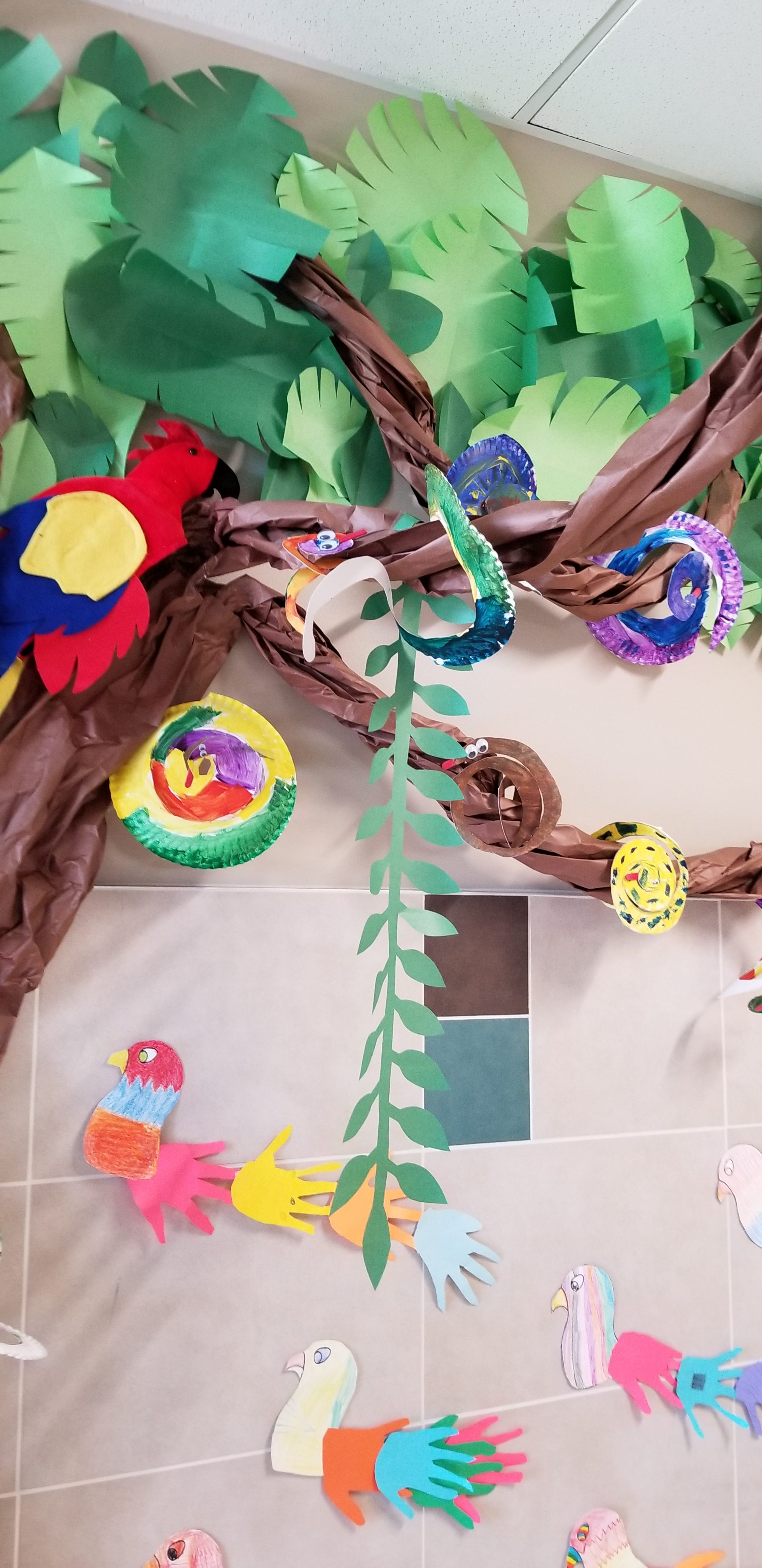 Paper Jungle at Stansbury Elementary